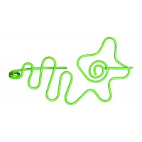 Nirvana Flower Shawl Pin - Lime