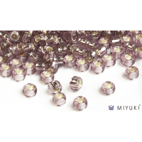 Miyuki 6/0 Glass Beads 12 - Silverlined Lilac approx. 30 grams