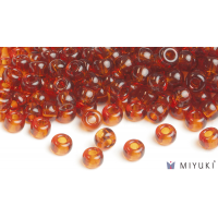 Miyuki 6/0 Glass Beads 134 - Transparent Copper approx. 30 grams