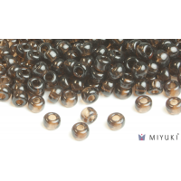 Miyuki 6/0 Glass Beads 135 - Transparent Root Beer approx. 30 grams