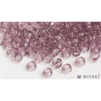 Miyuki 6/0 Glass Beads 142 - Transparent Lilac approx. 30 grams