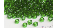 Miyuki 8/0 Glass Beads 146 - Transparent Grass Green approx. 30 grams
