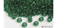 Miyuki 6/0 Glass Beads 147 - Transparent Light Emerald approx. 30 grams