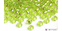 Miyuki 8/0 Glass Beads 14 - Silverlined Chartreuse approx. 30 grams