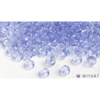 Miyuki 6/0 Glass Beads 159L - Transparent Light Cornflower Blue approx. 30 grams