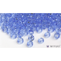 Miyuki 8/0 Glass Beads 159 - Transparent Cornflower Blue approx. 30 grams