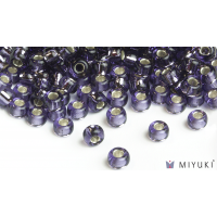 Miyuki 8/0 Glass Beads 24 - Silverlined Lavender approx. 30 grams