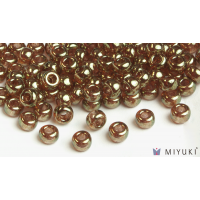 Miyuki 6/0 Glass Beads 311 - Topaz Gold Luster approx. 30 grams