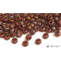 Miyuki 6/0 Glass Beads 315 - Burgundy Gold Luster approx. 30 grams
