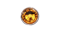 3mm Buttons Sun with Silver Bezel 100 pk - Crystaletts