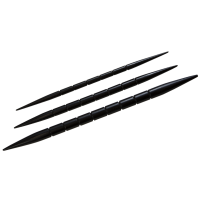 Ebony Cable Needles 3pk - Nirvana