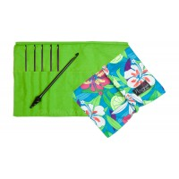"Nirvana Ebony Crochet Hook Gift Set with 7"" Needle and Hook Case"