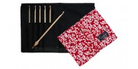 "Nirvana Maple Crochet Hook Gift Set with 7"" Needle and Hook Case"