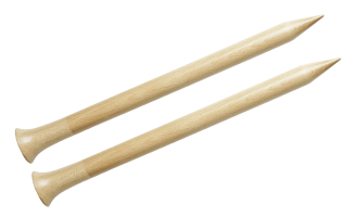 "12"" Birch Single Point Needles"