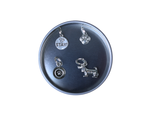Pewter Stitch Markers - Dog Collection
