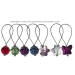 Swarovski Crystal Stitch Markers - Set of 12, Assorted colors