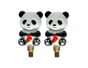 HiyaHiya Interchangeable Cable Stopper - Large, Panda Li