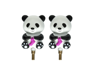 HiyaHiya Interchangeable Cable Stopper - Small, Panda Li