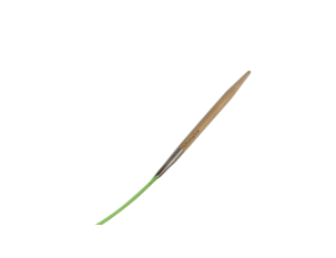 "9""  5 US/3.75mm HiyaHiya Bamboo Circular Needle"