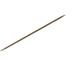 "6""  6 US/4mm HiyaHiya Bamboo Double Pointed Needles"