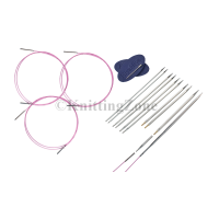 HiyaHiya SHARP Steel Sock Interchangeable Set - Sizes 0-2.5US - Does not include case