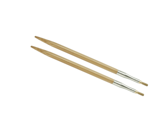 "2.5 US/3mm 4"" HiyaHiya Bamboo Interchangeable Tips"
